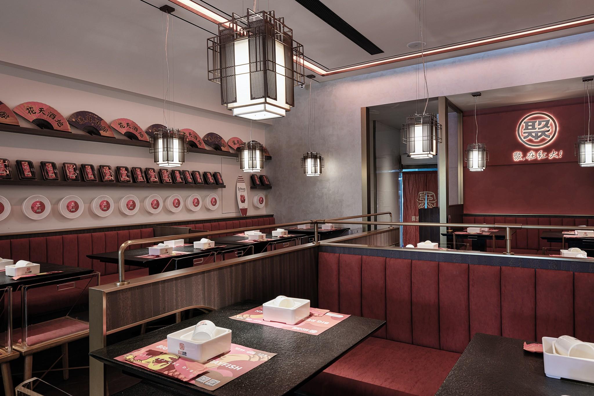 餐饮品牌商业空间设计-红大龙虾690433cc23f9dc1ebcff7cf784199a91