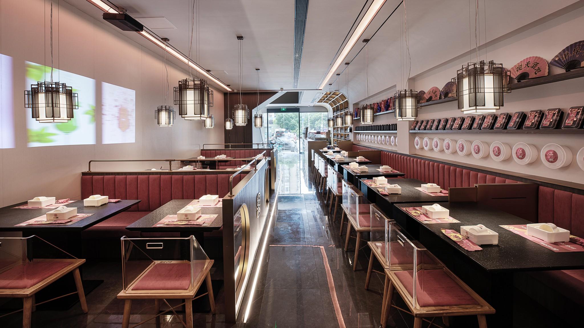 餐饮品牌商业空间设计-红大龙虾38d3b9e7031e1d315123fd69c3e086ed
