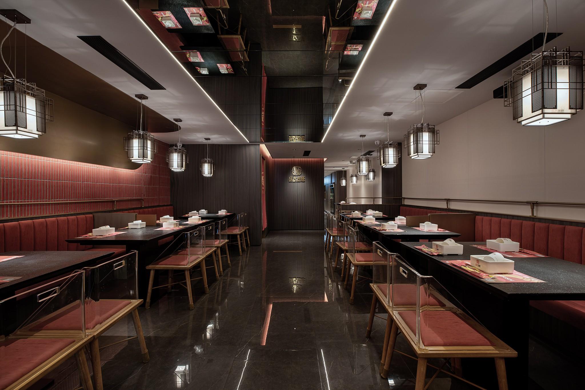 餐饮品牌商业空间设计-红大龙虾97e68b9ee43cf463d665511da99896d1