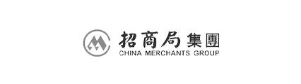 招商局logo黑白