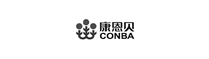 康恩贝logo黑白