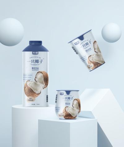 光明一只椰子-饮料包装设计-杭州品牌策划设计公司