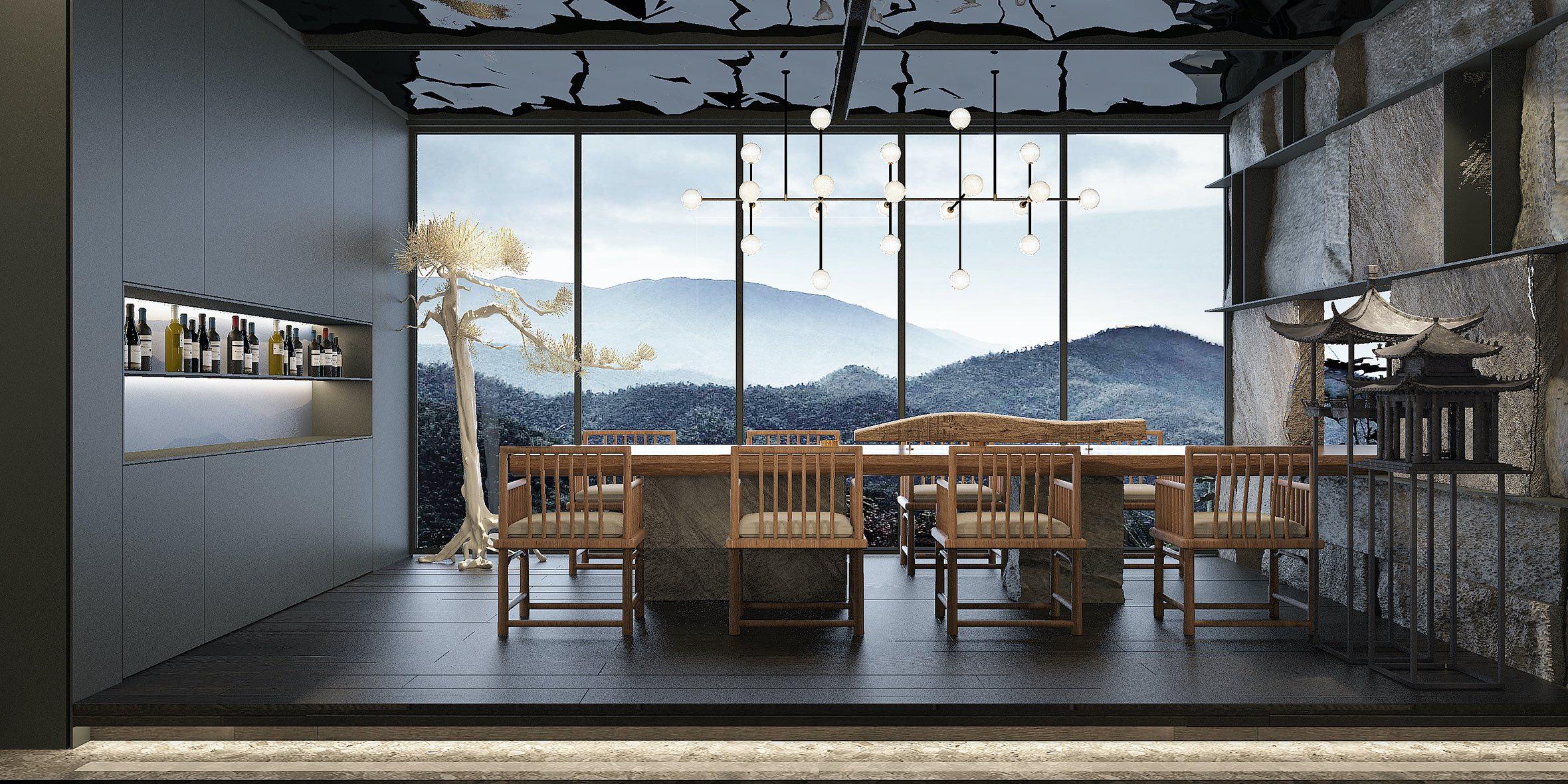 近仁兴咖啡馆设计-餐厅设计-杭州达岸品牌策划设计公司